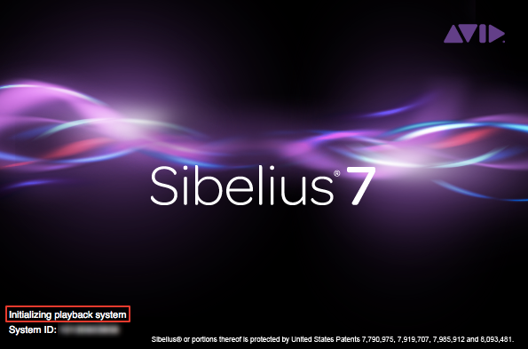 Sibelius crashes on startup