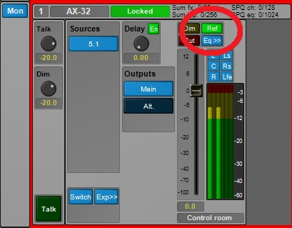 Pro Tools | MTRX: Setting the Ref level in Pro Mon