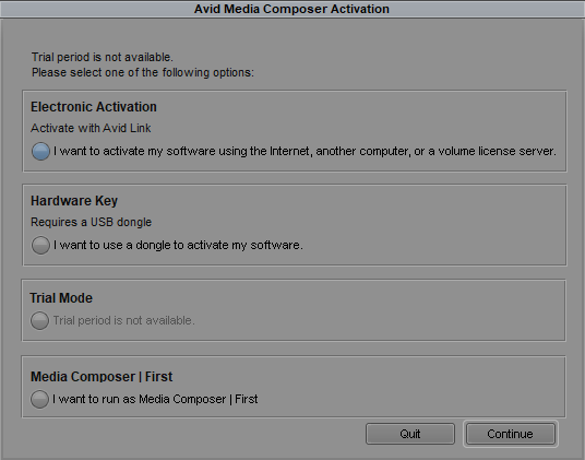 How to Activate Media Composer in Avid Link