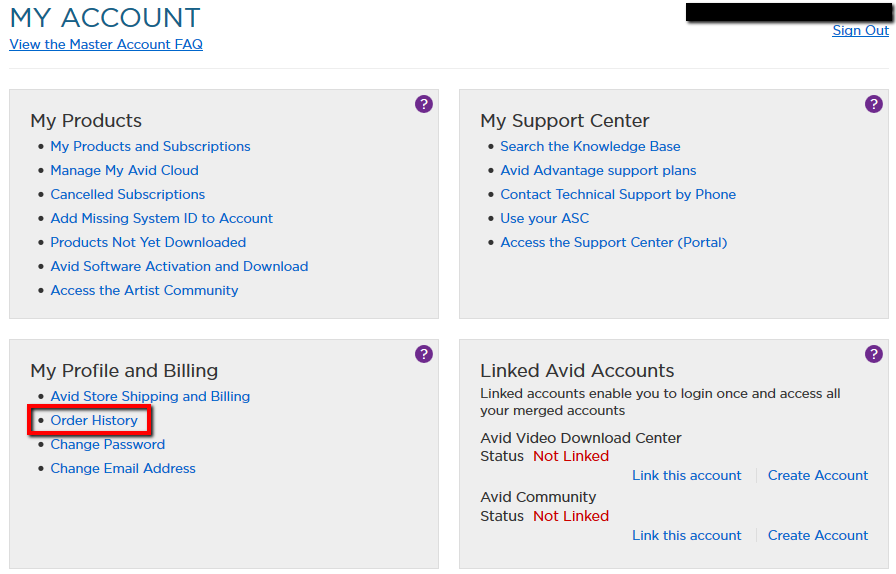 a9f80ae6fc37 Avid Online Store  How to track my order